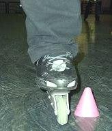 правильная постановка ноги