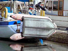 Как надувную лодку лучше всего ремонтировать?