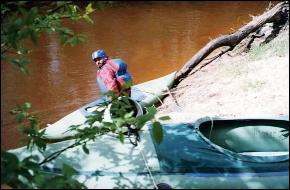 Река Щебереха, май 1999 г.