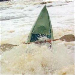 Река Уксунйоки, май 2000 г.