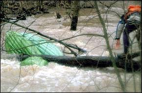 Река Выпрейка, апрель 1999 г.
