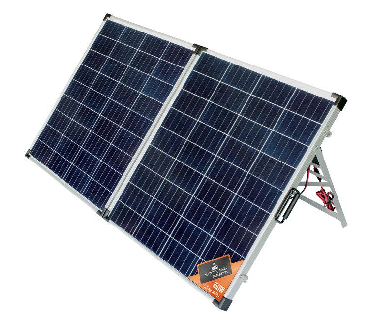 Солнечная панель складная Woodland Sun House 150W купить за 16 950 руб. в интернет-магазине ЗаТуманом.ру