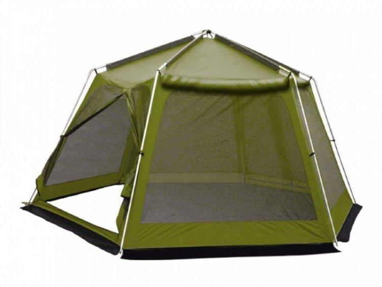 Тент-шатер Tramp Lite Mosquito green TLT-033.04 купить за 12 200 руб. в интернет-магазине ЗаТуманом.ру